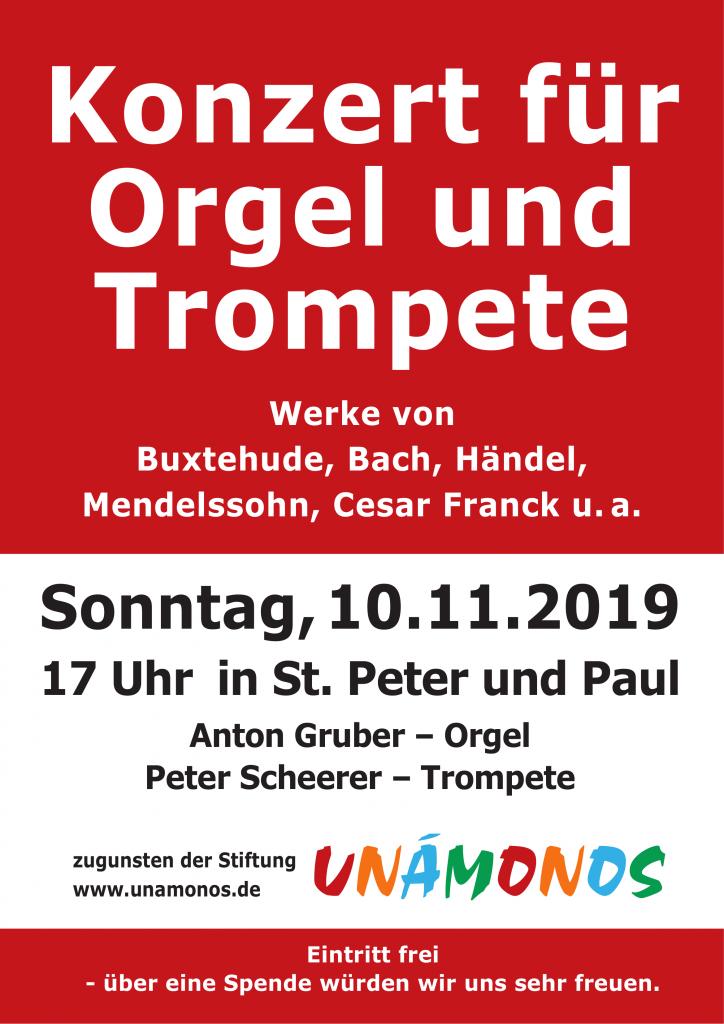Unamonos Konzert St. Peter und Paul